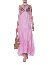 TEMPERLEY LONDON Chimera Tie Royal Pink