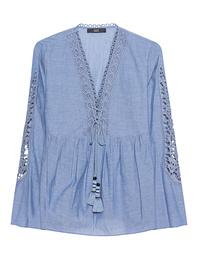 STEFFEN SCHRAUT Cotton Tassel Crochet Blue