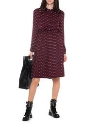 STEFFEN SCHRAUT Dots Pleated Bordeaux