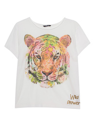 PRINCESS GOES HOLLYWOOD Tiger Off White