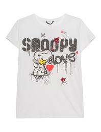 PRINCESS GOES HOLLYWOOD Snoopy Love Off White