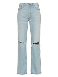 RE/DONE 90s High Rise Loose Light Blue