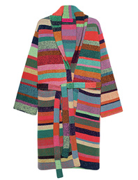 The Elder Statesman Stripe Soft Cashmere Multicolor