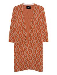 STEFFEN SCHRAUT Pattern Studs Orange Brown