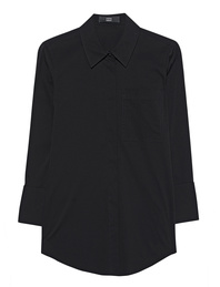 STEFFEN SCHRAUT Shirt Collar Pocket Black