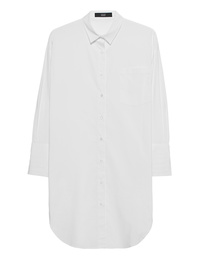 STEFFEN SCHRAUT Shirt Dress Pocket Long White