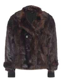 STEFFEN SCHRAUT Jacket Fur Brown
