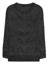 STEFFEN SCHRAUT Metallic Pullover Black