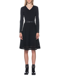 STEFFEN SCHRAUT Knit Dress Basic Black