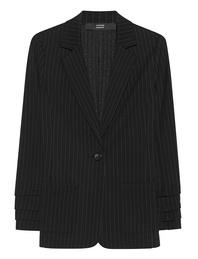 STEFFEN SCHRAUT Pinstripe Blazer Black