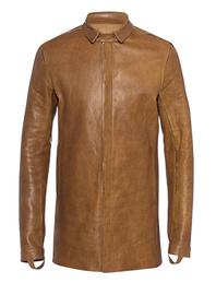 BORIS BIDJAN SABERI Slim Leather Cognac