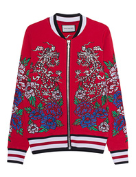 ROQA Bomber Embroidery Red