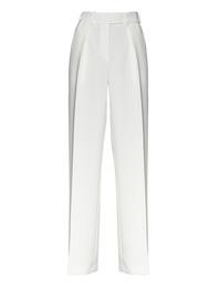 ALEXANDRE VAUTHIER Pleat Stripe Off-White