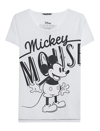 PRINCESS GOES HOLLYWOOD Mickey Astronished Tee White
