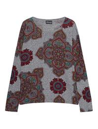 PRINCESS GOES HOLLYWOOD Knit Heart Deco Grey