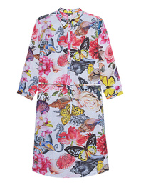 PRINCESS GOES HOLLYWOOD Butterfly Shirt Dress Multicolor