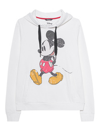 PRINCESS GOES HOLLYWOOD Mickey Print Hood Off-White