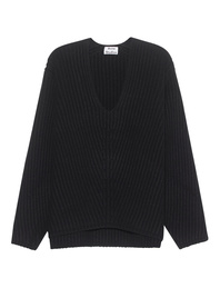 ACNE STUDIOS Deborah Wool Black