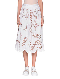 STEFFEN SCHRAUT Flower Embroidery Off-White