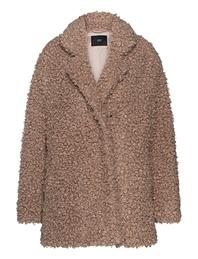 STEFFEN SCHRAUT Fake Fur Curly Macchiato Beige