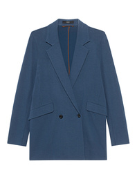 STEFFEN SCHRAUT Long Blazer Smoky Blue