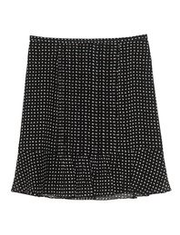 STEFFEN SCHRAUT Dots Pleats White Black