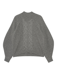 STEFFEN SCHRAUT Turtleneck Knit Light Grey