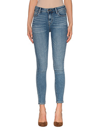 TRUE RELIGION High Waist Halle Turn On The Light Blue