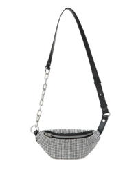 ALEXANDER WANG Attica Soft Mini Fanny Sparkle Black
