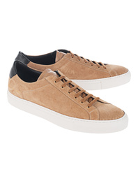 Common Projects Retro Low Suede Tan