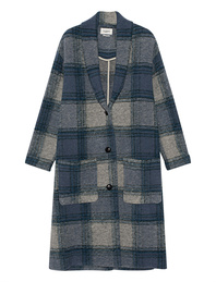 Isabel Marant Étoile Elayo Checked Blue