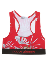 Paco Rabanne Bustier Red