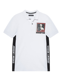 JEREMY MEEKS Polo Redemption White