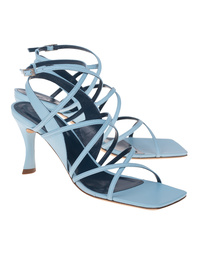 BY FAR Christina Leather Baby Blue