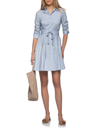 STEFFEN SCHRAUT Shirt Dress Flared Sky Blue
