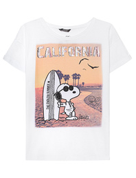PRINCESS GOES HOLLYWOOD Snoopy California White