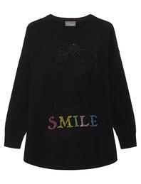 PRINCESS GOES HOLLYWOOD Snoopy Smile Black