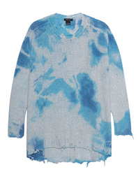 AVANT TOI Batik Blue Knit Multicolor