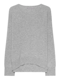 THE MERCER N.Y. Cashmere Melange Lightgrey