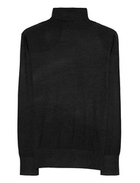 THE MERCER N.Y. Turtle Neck Black