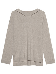 (THE MERCER) N.Y. Hooded Cashmere Beige