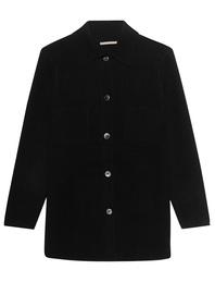 (THE MERCER) N.Y. Overshirt Cashmere Black
