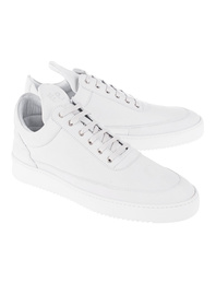 Filling Pieces Low Top Lane Matt Nubuck White
