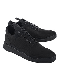 Filling Pieces Low Top Ghost All Black