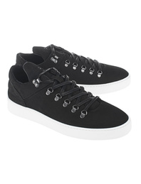 Filling Pieces Mountain Cut Matt Nubuck Black