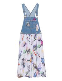 KENZO Visage x Badges Dungaree Dress