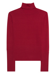 STEFFEN SCHRAUT Turtleneck Knit Slim Red