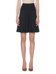 STEFFEN SCHRAUT Knit Pocket Skirt Black