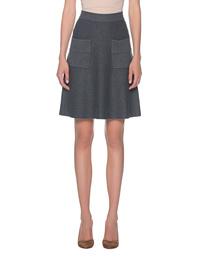 STEFFEN SCHRAUT Knit Pocket Skirt Grey