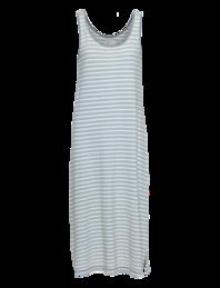 CURRENT/ELLIOTT The Tank Dress Dock Indigo Stripe